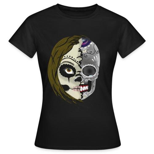 Double face - T-shirt Femme
