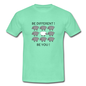 T-shirt homme Be different Be you - T-shirt Homme
