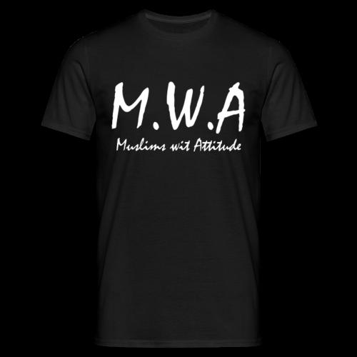 M.W.A Regular Fit Shirt - Männer T-Shirt