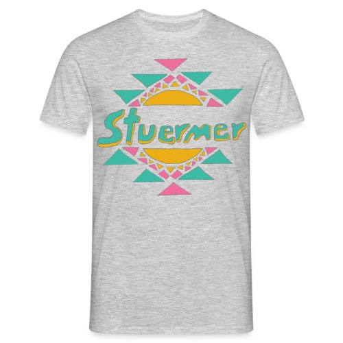 Stuermer Shirt : heather grey - Men's T-Shirt