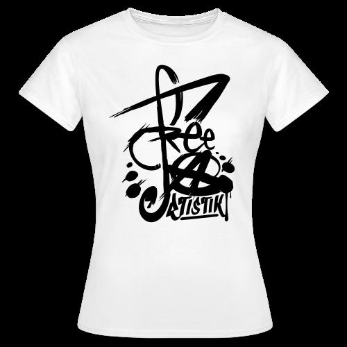 T-Shirt Femme - FreeArtistik - T-shirt Femme