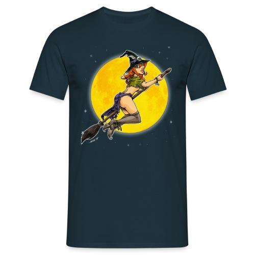 Hallo Witch - Männer T-Shirt