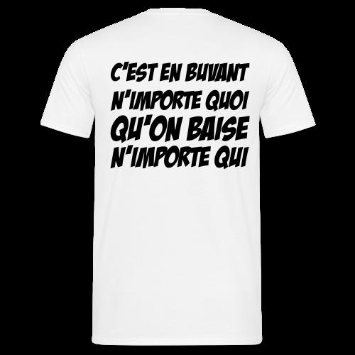 N'importe Qui - T-shirt Homme
