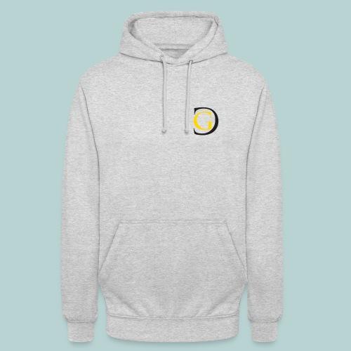 Grey hodie with GC Logo - Unisex Hoodie