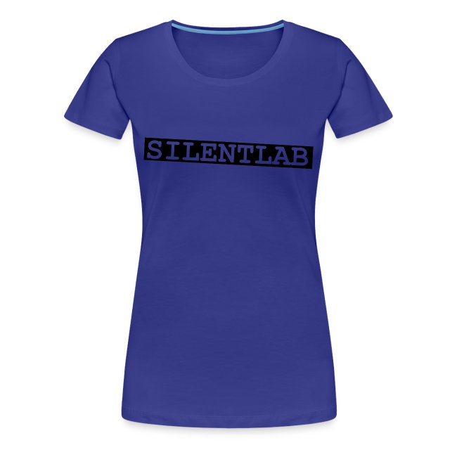 silentlab blue female t-shirt