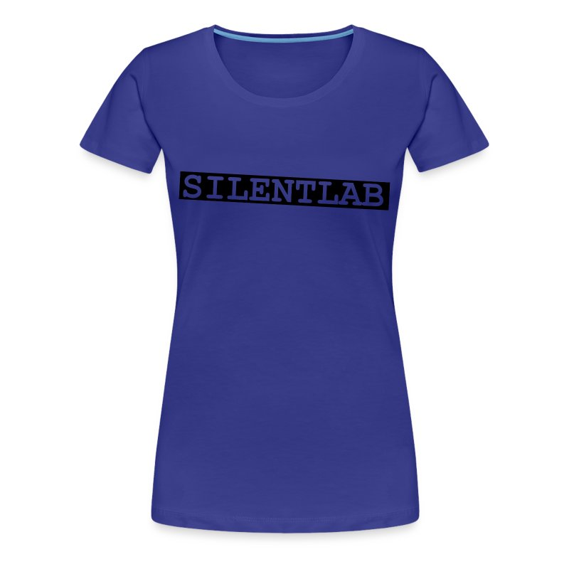 silentlab blue female t-shirt - Women's Premium T-Shirt
