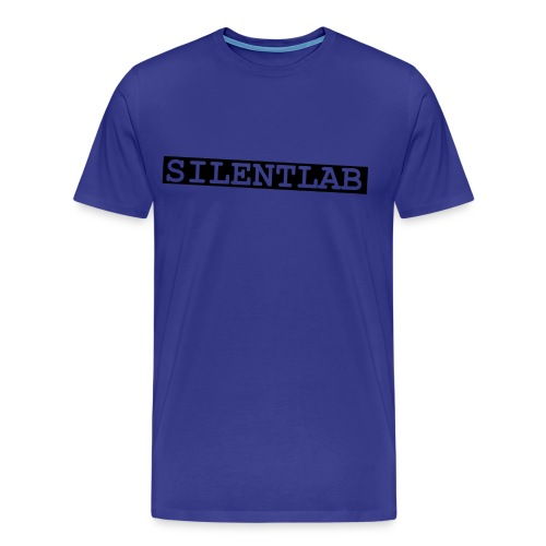 silentlab blue male t-shirt - Men's Premium T-Shirt