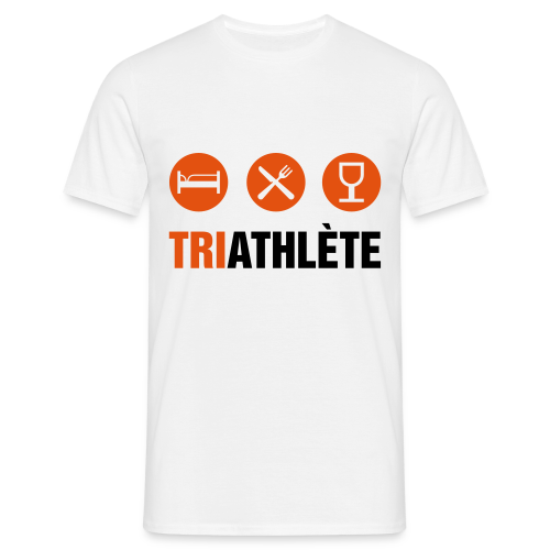 TriAthlète - T-shirt Homme