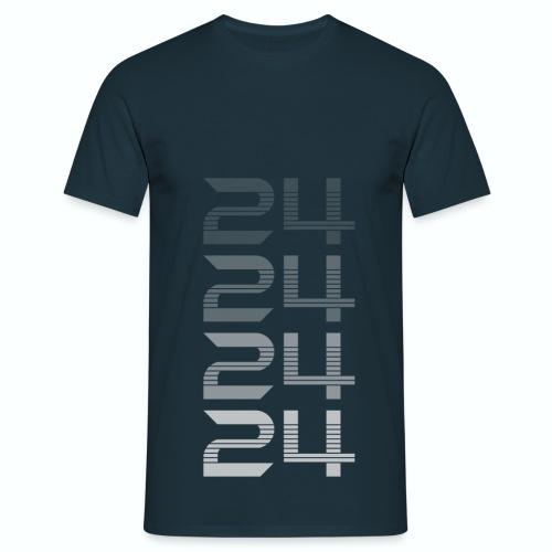 T shirt département 24 Dordogne bleu m homme - T-shirt Homme