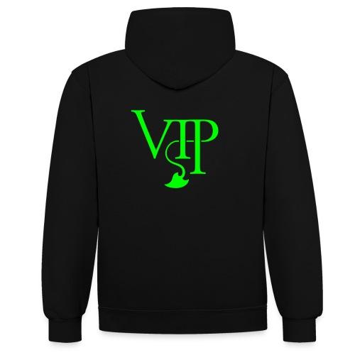 VIP Teufel  - Kontrast-Hoodie