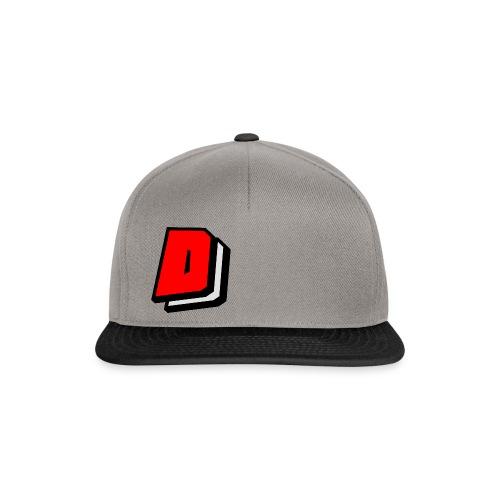 Dahl Dantill Logo Baseball Cap - Grey/Black - Snapback Cap