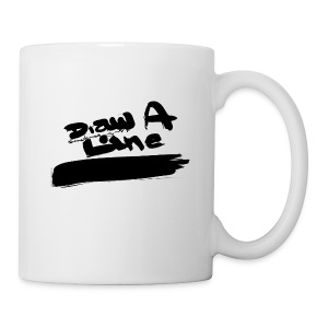 Draw A Line - Mug