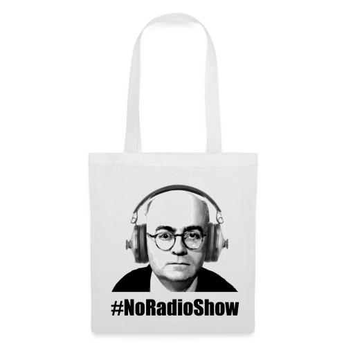 NoRadioShow Tasche (weiss) - Stoffbeutel
