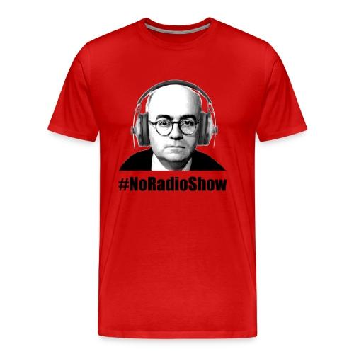 NoRadioShow Fan-Shirt Männer (rot) - Männer Premium T-Shirt