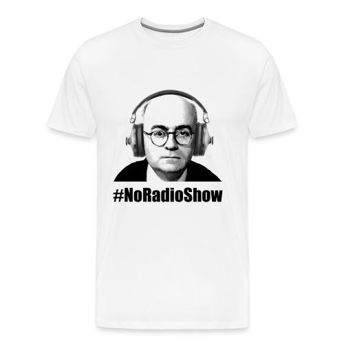 NoRadioShow Fan-Shirt Männer (weiss) - Männer Premium T-Shirt