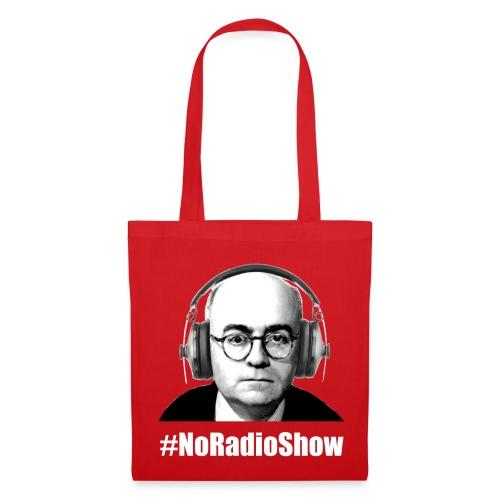 NoRadioShow Tasche (rot) - Stoffbeutel
