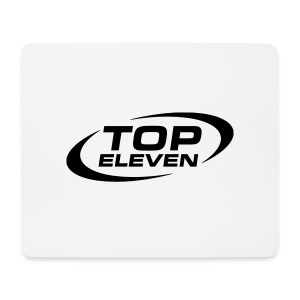 Logo White Mouse Pad - Horizontal - Mouse Pad (horizontal)