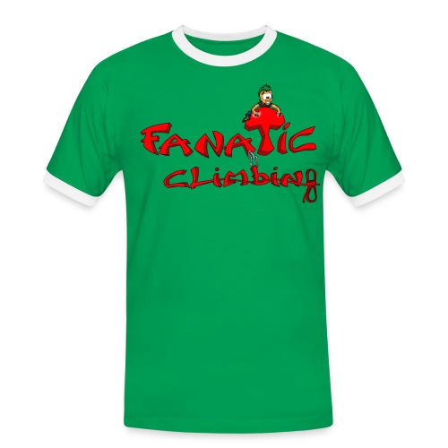 Fanatic t shirt bicolore homme - T-shirt contrasté Homme