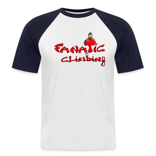 Fanatic t shirt baseball homme - T-shirt baseball manches courtes Homme
