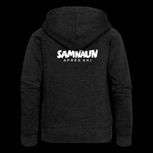 Samnaun Apres Ski Skifahrer Design