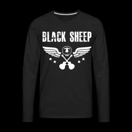 Black Sheep Wings Männer Premium Langarmshirt - Männer Premium Langarmshirt