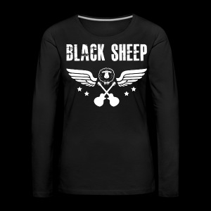 Black Sheep Wings Frauen Premium Langarmshirt - Frauen Premium Langarmshirt