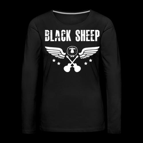 Black Sheep Wings Frauen Premium Langarmshirt - Frauen Premium Langarmshirt
