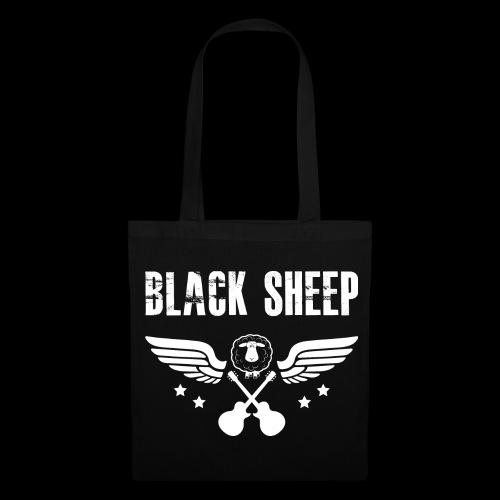 Black Sheep Baumwolltasche - Stoffbeutel