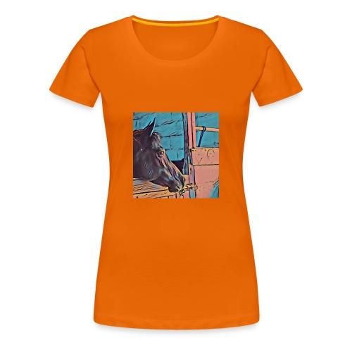 Serie Horses for Woman - Camiseta premium mujer