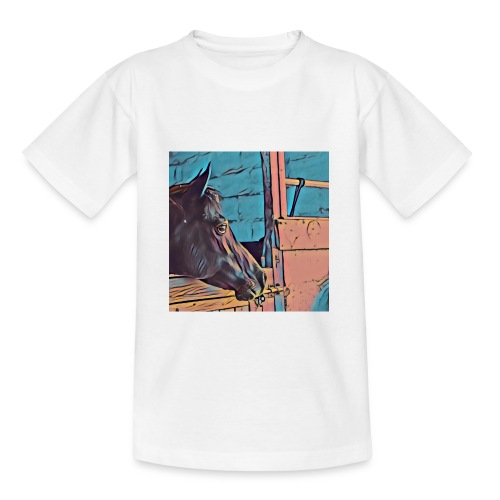 Serie Horses for Children - Camiseta adolescente