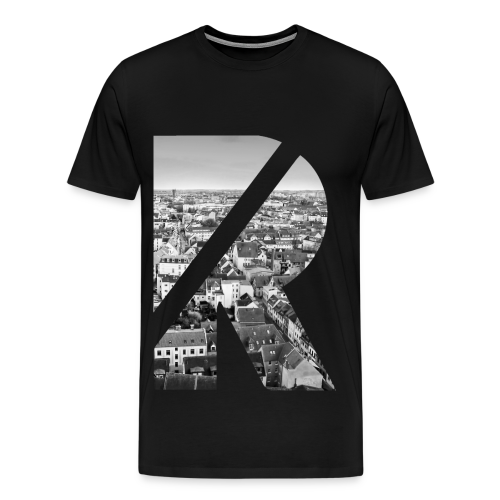 Just Freerun & PKFR Rostock T-Shirt schwarz - Männer Premium T-Shirt