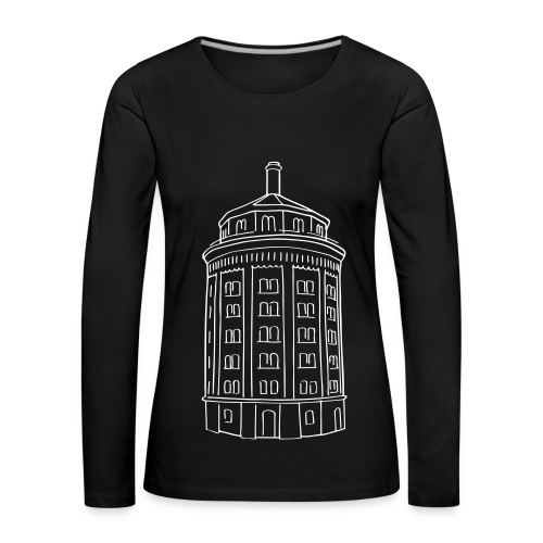 Wasserturm am Kollwitzplatz (Dicker Hermann) - Frauen Premium Langarmshirt