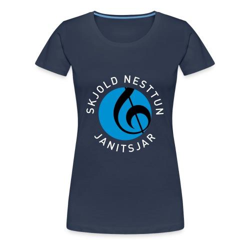 SNJ T-skjorte kvinner - Premium T-skjorte for kvinner