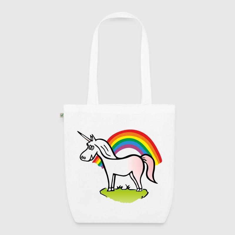 Stoffen Tas Forever 21 : Unicorn and rainbow stoffen tas spreadshirt