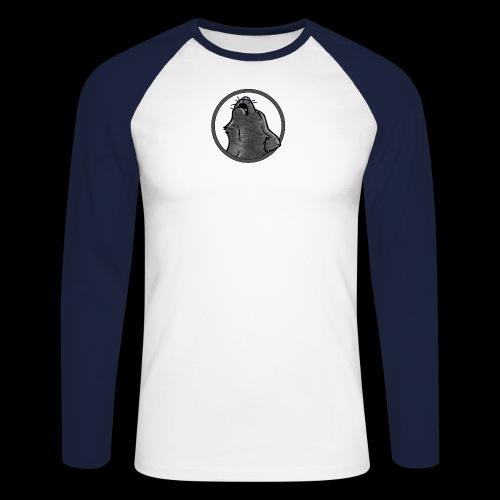 WuffPuk Howl Baseball Shirt - Men's Long Sleeve Baseball T-Shirt