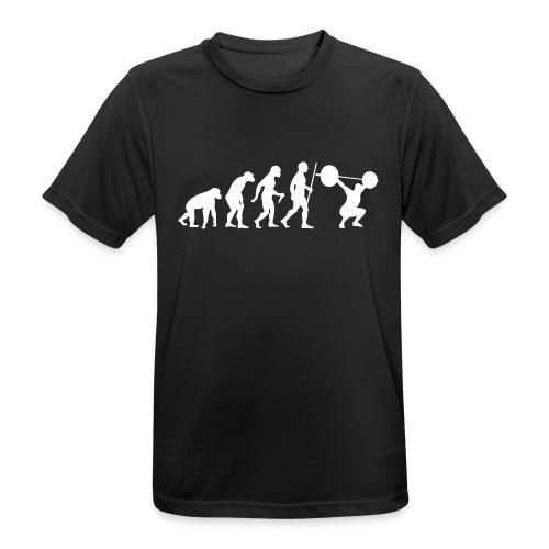 Evolution Crossfit Shirt - Männer T-Shirt atmungsaktiv