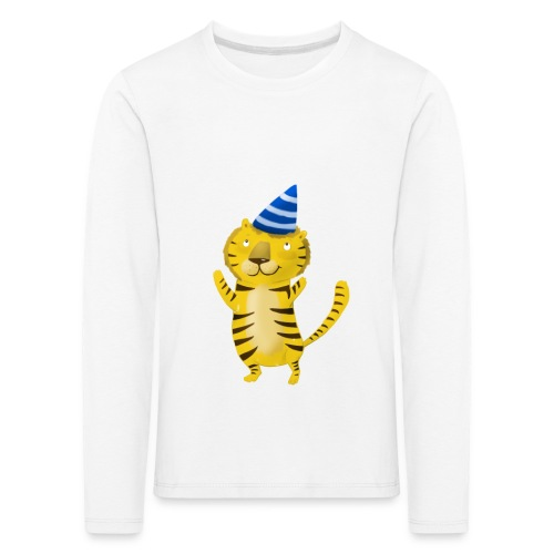 Party Tiger Longsleeve - Kinder Premium Langarmshirt