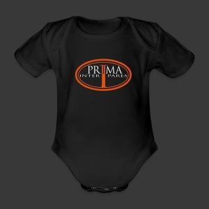 PRIMA INTER PARES - Organic Short-sleeved Baby Bodysuit