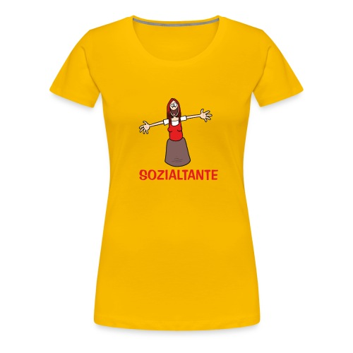 Sozialtante - T-Shirt - Frauen Premium T-Shirt