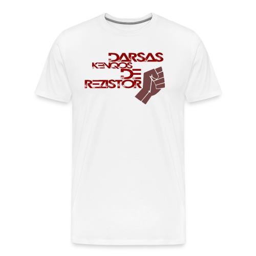 Darsas Weiss - Männer Premium T-Shirt