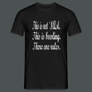 Quote 1 Walter Sobchak: There are rules - Männer T-Shirt