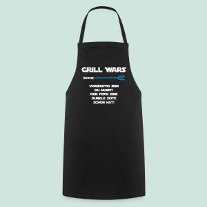 Grill Wars dunkle Seite Fisch