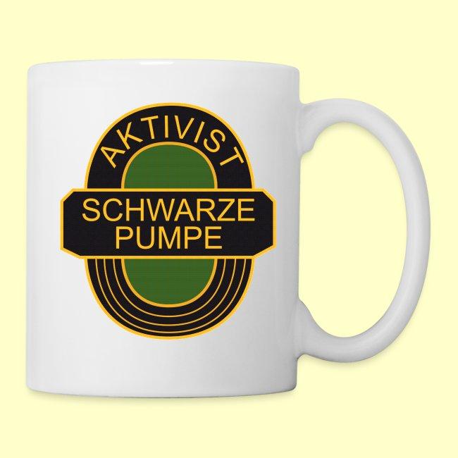 Fan-Tasse: Aktivist Schwarze Pumpe