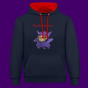 NightmareApes Unisex Hoodie - Kontrast-Hoodie