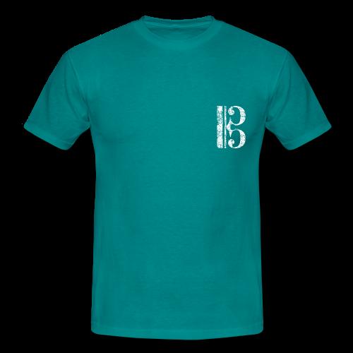 Altschlüssel, Tenorschlüssel (Vintage/Weiß) T-Shirt - Männer T-Shirt