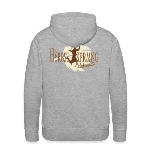 Herbstsprung Logo - Männer Premium Hoodie