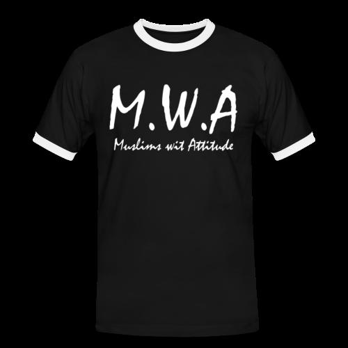 M.W.A Retro Shirt - Männer Kontrast-T-Shirt