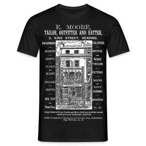 Moore's Outfitter, Reading (Front) - Men's T-Shirt