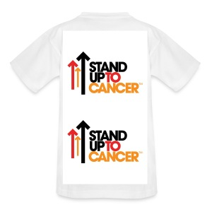 Stand Up To Cancer Tenagers T-Shirt - Kids' T-Shirt