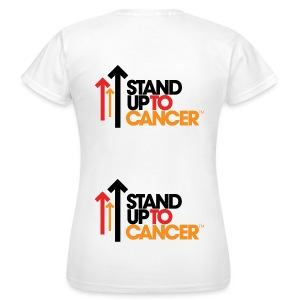 Stand Up To Cancer Womens T-Shirt - Women's T-Shirt